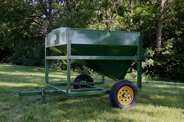 Portable Feed Storage Bins : Portable feed hoppers pictures to pin on pinterest thepinsta