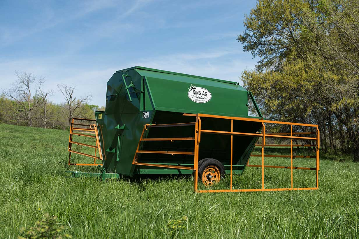 Portable Cattle Feeder