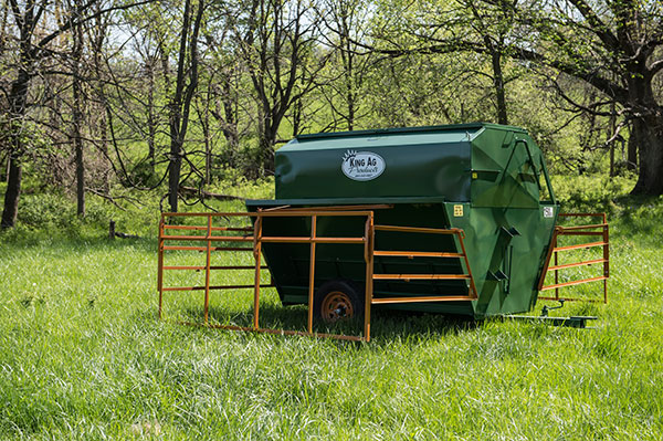150BU Portable Creep Feeder