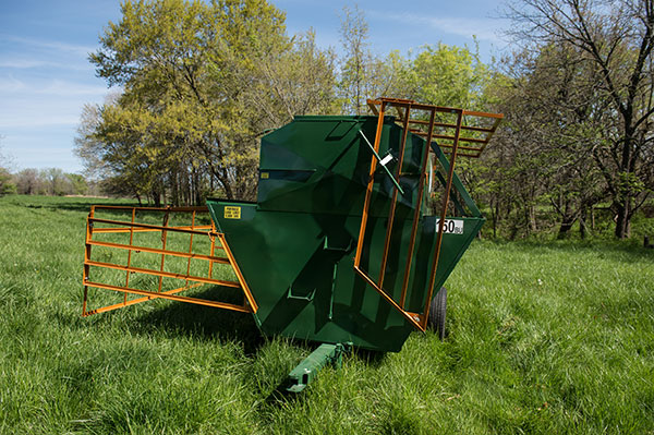 Portable Creep Feeder 150BU Gate Up