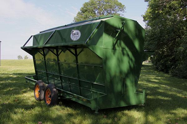 Portable Bison Feeder